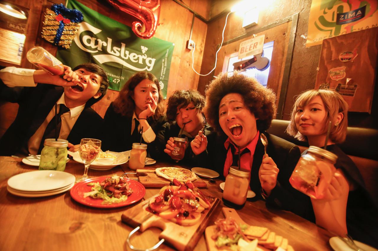 メンバーの大半が東淀川区出身というロックバンド「Dr.FOOL」も出演!
