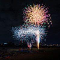 ひがよど祭り2018 花火